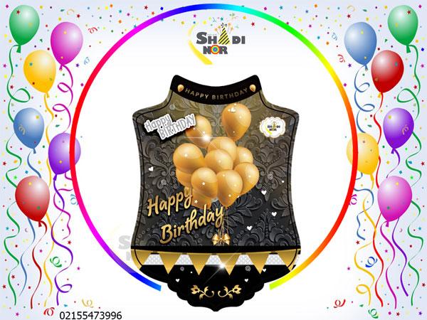 تم-تولد-بادکنک-مشکی-طلایی-شادینور-قیمت-فروش-عمده-تم-تولد-در-ایران