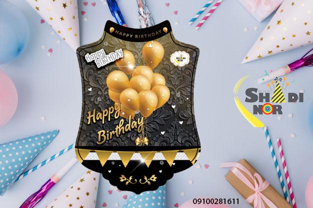 تم-تولد-بادکنک-مشکی-طلایی---فروش-عمده-تم-تولد-در-ایران