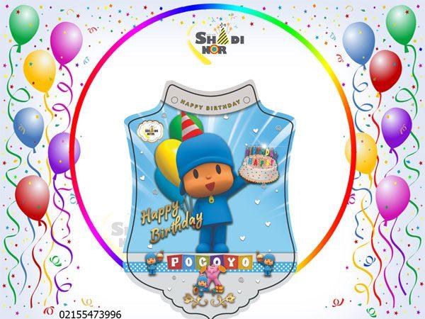 تم-تولد-پوکویو-آبی-پسرانه--فروش-عمده-تم-تولد-پوکویو-جشن-تولد