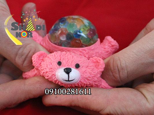 میشبال-خرس--فروش-عمده-فیجت-بال-خرس-خرید-از-پخش-لوازم-شوخی-ضد-استرس