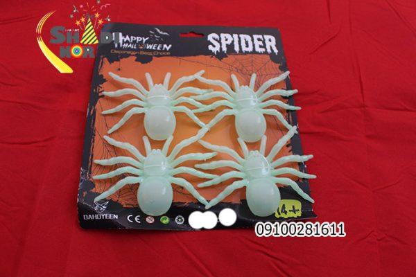 عنکبوت-شب-تاب-مصنوعی-هالوین-برای--جشن-و-شوخی-دوستان-عمده-فروشی-هالوین