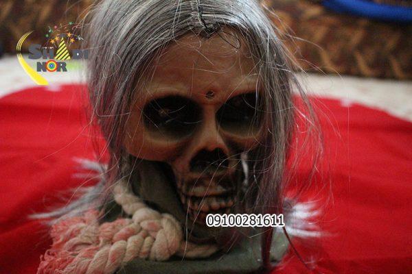 لوازم-هالووین--فروش-عمده-اسکلت-سربریده-متحرک-خور-هالووین-در-ایران-پخش-کلی-وسایل-هالووین