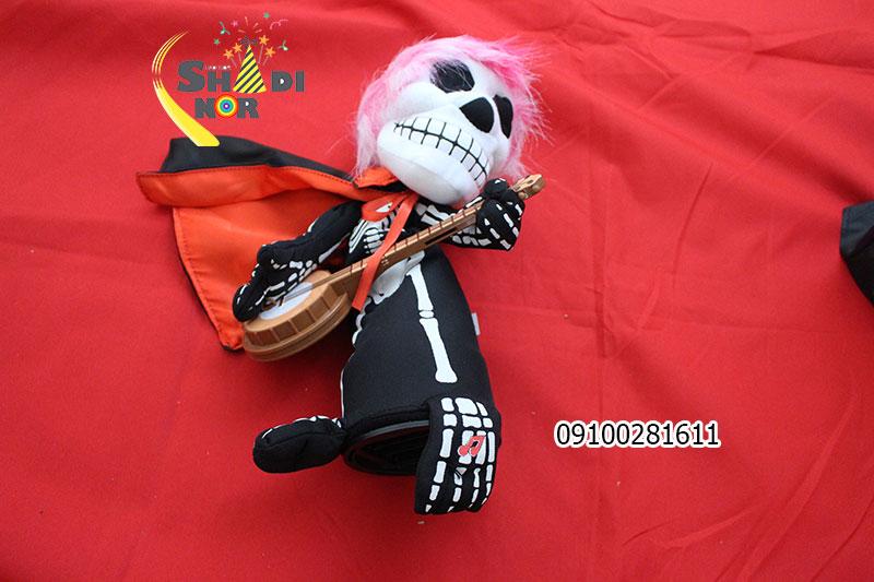 لوازم-هالووین-فروش-عمده-اسکلت-گیتاریست-باتری-خور-هالووین-در-ایران-پخش-کلی-وسایل-هالووین