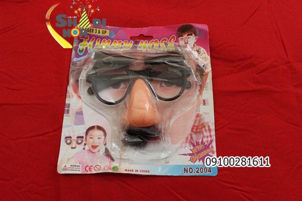 ماسک-سیبیل-عینک-فان-خنده-دار-برای-سیرک-و-دلقک