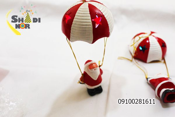 خرید عمده تم کریسمس آویز بالن کریسمس فروش عمده لوازم بابانوئل - فروش پخش کلی