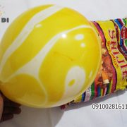 بادکنک شانجان 10 اینچ - فروش عمده بادکنک شانجان زرد