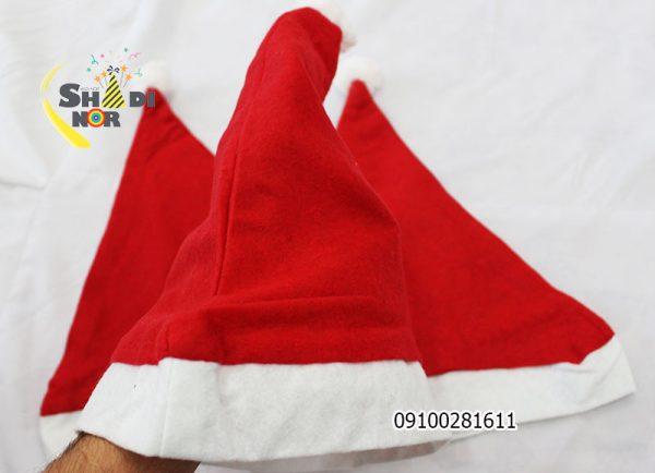 کلاه کریسمس ساده - فروش عمده کلاه های سفید قرمز بزرگسال