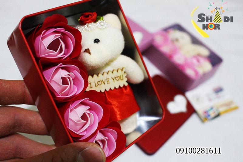 خرید عمده گل ولنتاین جدید شکلات و گل ولنتاین هدیه و گل ولنتاین عکس خرس و گل ولنتاین گل و عروسک ولنتاین