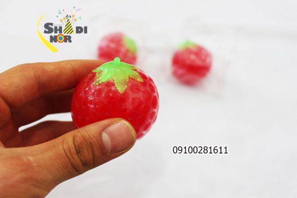 خرید فیجتبال گوجه - میشبال میوه خرید عمده لوازم ضد استرس و اسکویشی