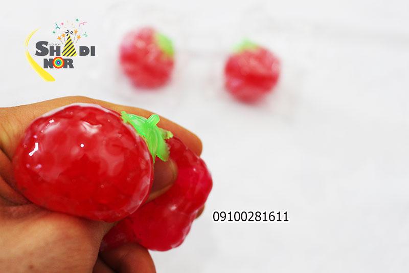 فیجتبال گوجه - میشبال میوه خرید عمده لوازم ضد استرس و اسکویشی