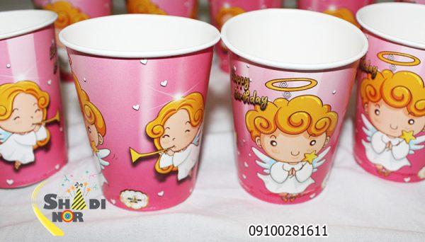 لیوان تولد تم فرشته کوچولو_پخش عمده لیوان تولد تم فرشته کوچولو