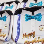بشقاب تولد تم پاپیون _سفارش عمده آنلاین بشقاب تولد تم پاپیون