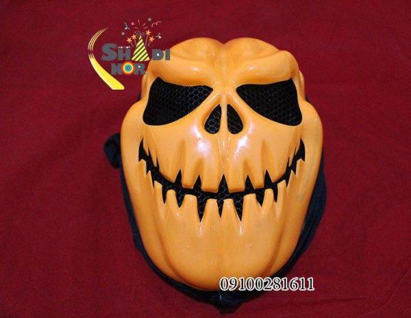 پخش عمده لوازم هالووین ماسک لبخند هالووین با شنل