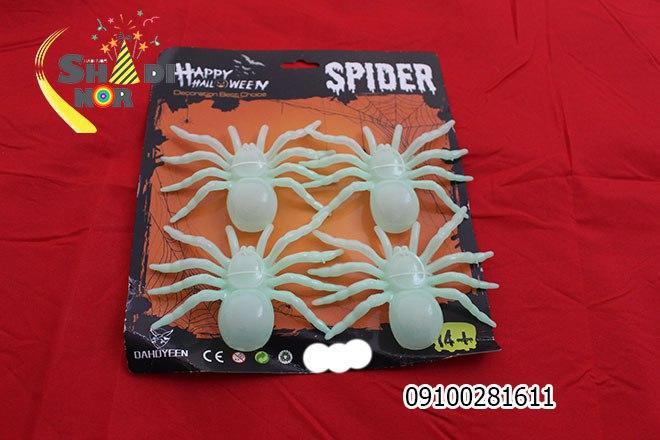 فروش عمده لوازم هالووین محصول عنکبوت شبتاب