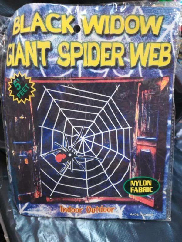 خرید عمده انواع لوازم هالووین و لوازم شوخی تور عنکبوت