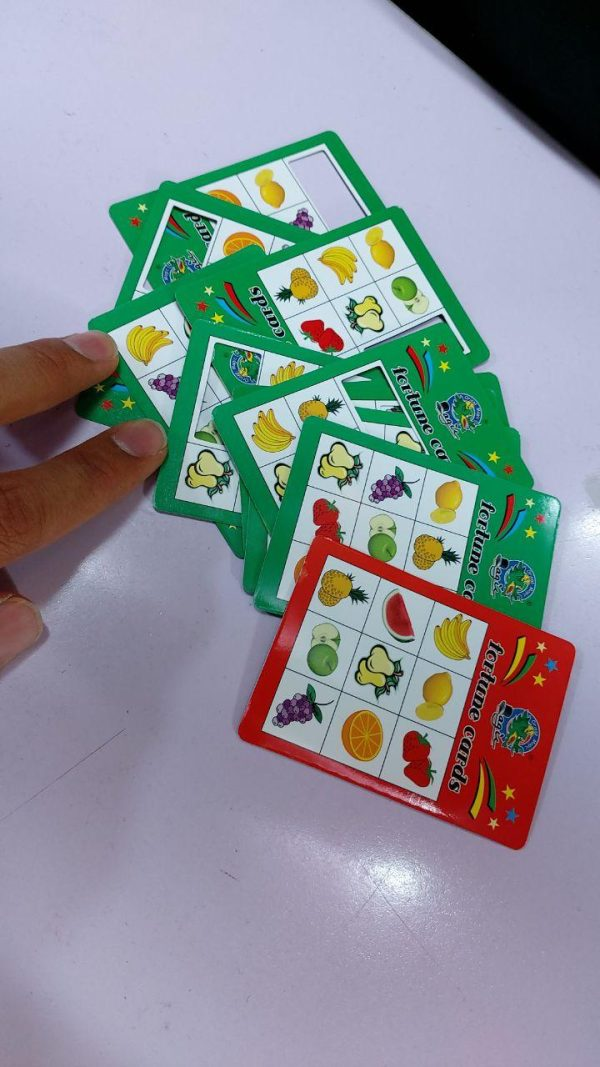 خرید عمده لوازم شعبده بازی محصول کارت تشخیص میوه