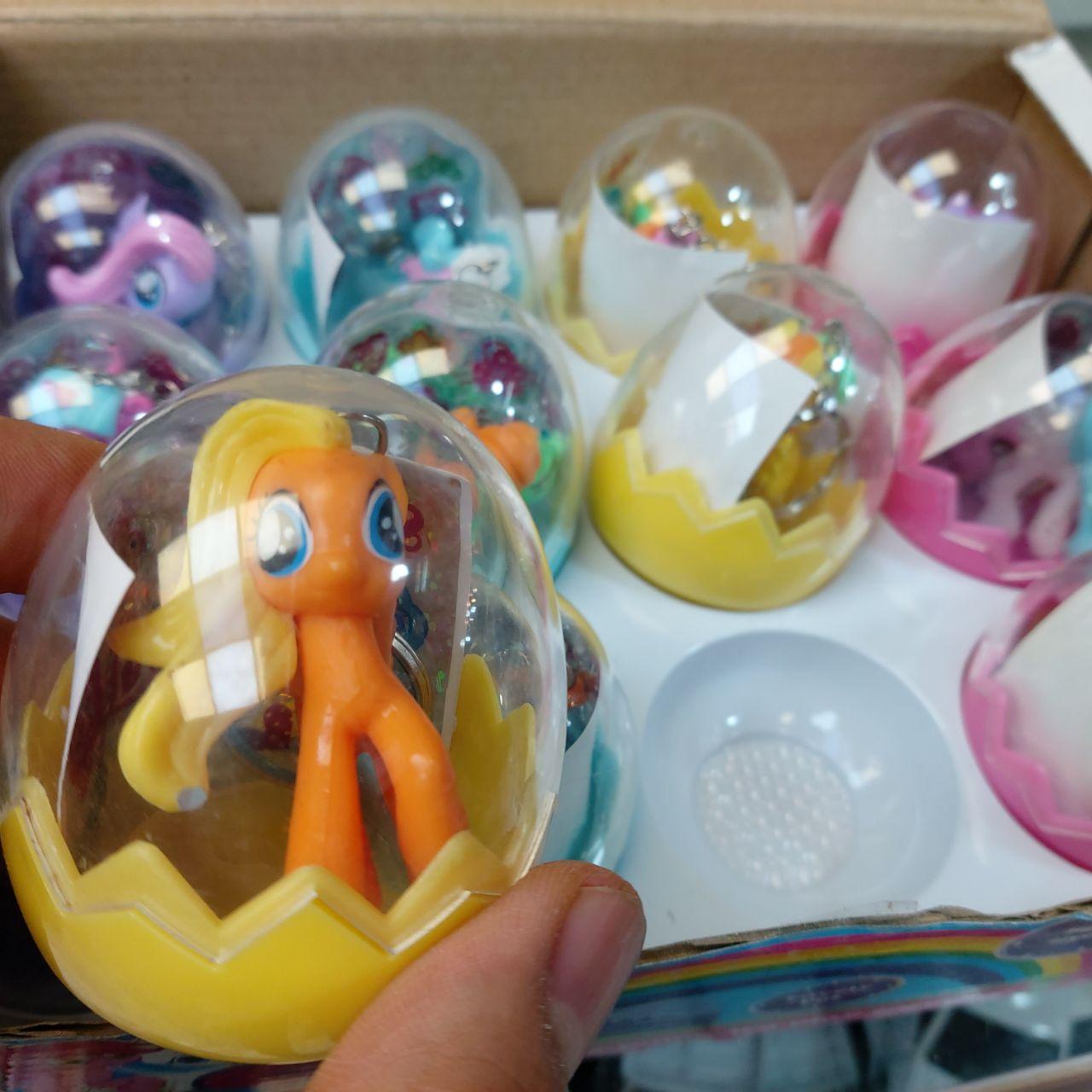 پخش عمده اسباب بازی های دخترانه عروسک پونی تخم مرغی