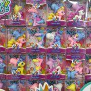 پخش عمده اسباب بازی های دخترانه عروسک پونی کلاه دار