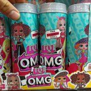 قیمت عمده انواع اسباب بازی های دخترانه سوپرایز ال و ال استوانه ایی