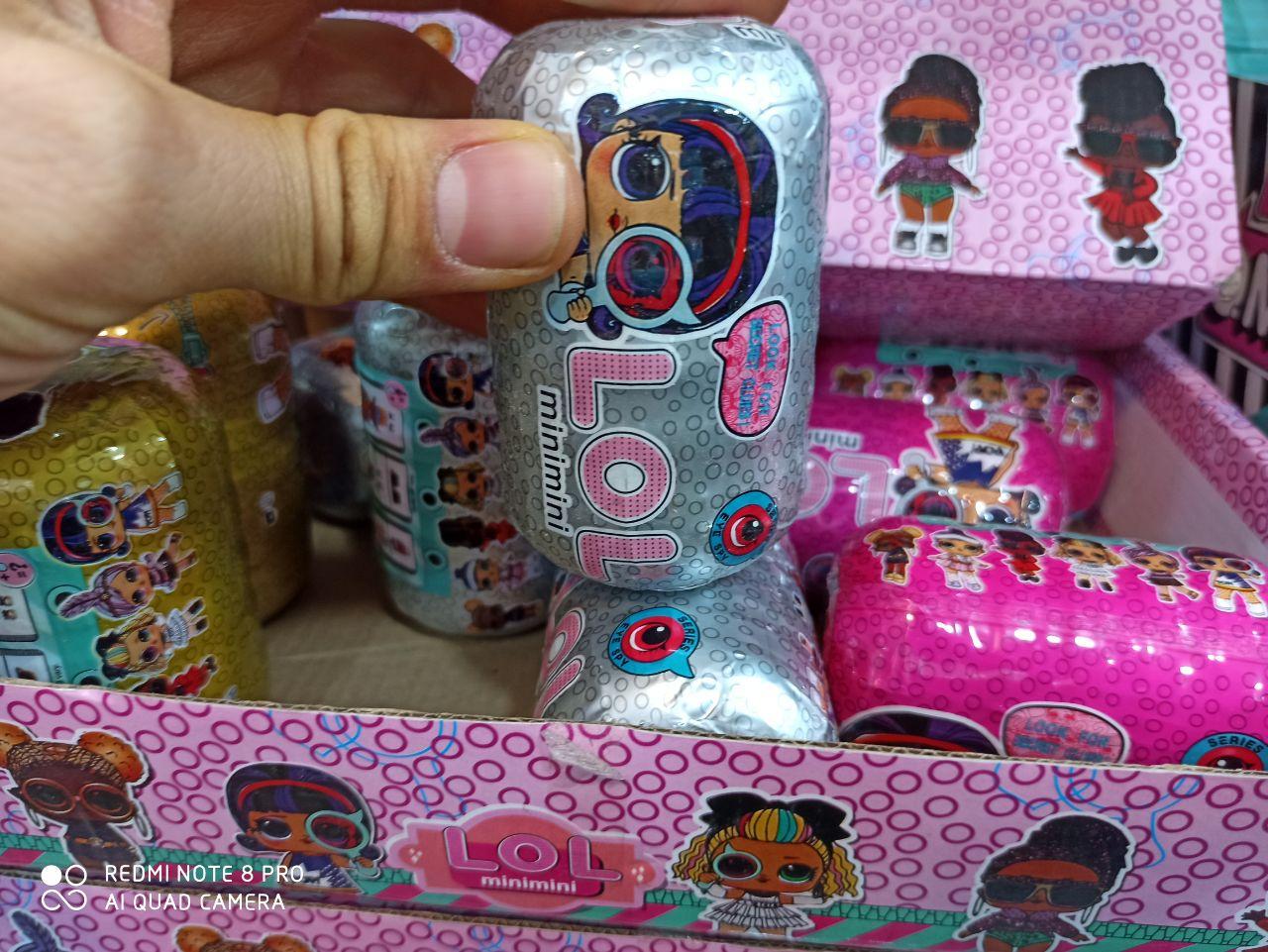 قیمت عمده انواع اسباب بازی های دخترانه سوپرایز ال و ال طرح کیف