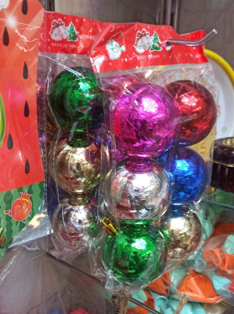 فروش عمده لوازم کریسمس گوی خارجی کریسمس