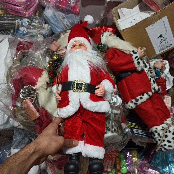 خرید عمده لوازم کریسمس عروسک بابانوئل
