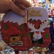 خرید عمده لوازم کریسمس جوراب آویزانی کریسمس