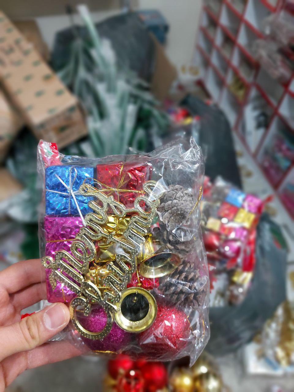 قیمت عمده لوازم کریسمس ست کریسمس