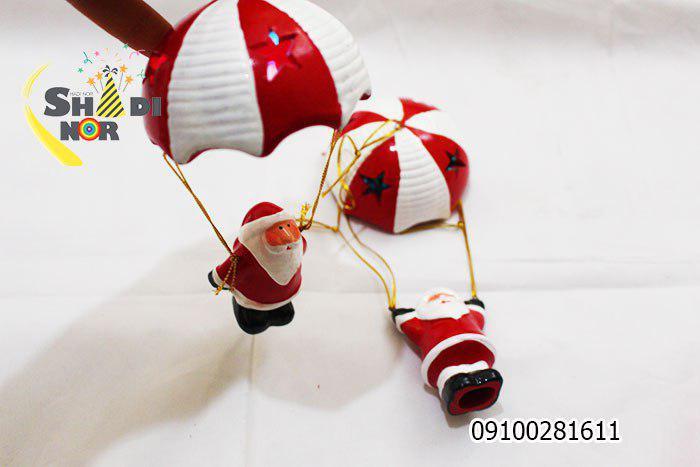 پخش عمده لوازم کریسمس چترباز بابانوئل