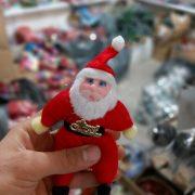 خرید عمده لوازم کریسمس عروسک کوچک بابانوئل