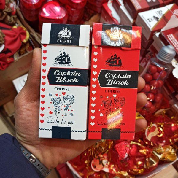 خرید عمده لوازم ولنتاین و کادویی شکلات ولنتاین طرح سیگاری