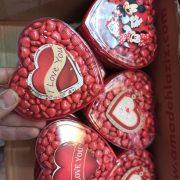 پخش عمده لوازم ولنتاین شکلات ولنتاین طرح لامپ و ستاره ایی