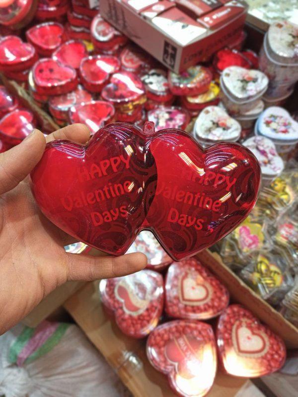 فروش عمده لوازم ولنتاین شکلات ولنتاین طرح باکس و قلبی