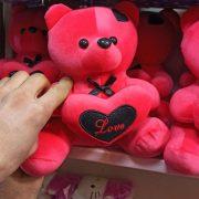 فروش عمده اسباب بازی عروسک خرسی بالشتک دار