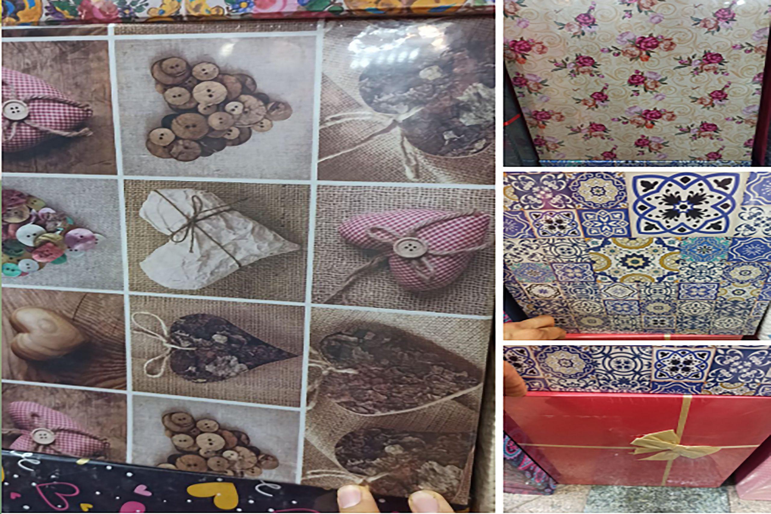 فروش عمده محصولات کادویی باکس کادو ده تیکه