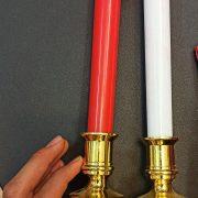 فروش عمده محصولات تزئینی شمع چراغدار باتری خور